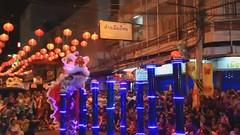 แสดงสิงโต โต๊ะดอกเหมย ตรุษจีน ก.พ. 2013