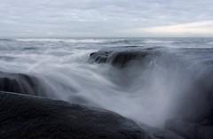 16-2-2013 (Copperhobnob) Tags: sea sky nature coast sand rocks waves explore portfolio stcombs stcombsbeach poty13l localexhib