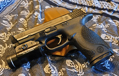 M&P9 2 (Eric Holmes) Tags: light liberty gun zombie apex weapon pistol sw guns defense nra holster 9mm firearm firearms polymer ccw tactical shemagh streamlight mp9 smithandwesson kydex tlr1 tlr1s mp9fs dcaek