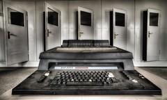 Typewriter (pixiepeeper) Tags: urban abandoned zeiss lost deutschland angle sony wide brandenburg hdr wilhelm fdj 1635 wandlitz bogensee pieck a99 sal1635f28z