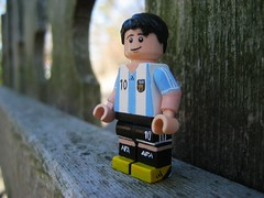 Lionel Messi (Da-Puma) Tags: portugal argentina germany football paint lego 10 soccer nike number ten lionel messiah custom adidas messi brickarms