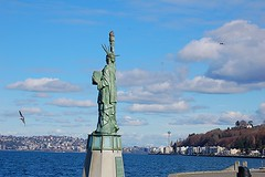 Statue of Liberty in Seattle