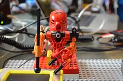 Toa Mata Band_RED1 (Opificio Sonico) Tags: robot lego korg bionicle ableton arduino sonico opificio kaossilator opificiosonico