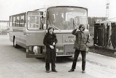 DELTAPLAN 1973 (streamer020nl) Tags: klaas ed zeeland deltaplan kats bus daf werk work collegue 1973 bj5220 enhabo landsmeer zaandam jonckheere schermer
