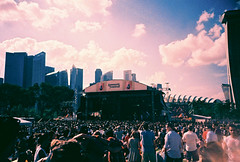 Laneway Festival Singapore 2013 (mayrpamintuan) Tags: city travel blue sky people music green film tourism nature festival youth analog marina 35mm garden asian fun outdoors bay lomo lca lomography saturated singapore asia artist tour outdoor weekend stage crowd grain chinese january lofi culture saturday tourist artists sing laneway tungsten grains analogue grainy lowres rockandroll lowfi marinabay t64 gardensbythebay marinabaysands