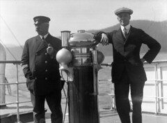 [Captain Browne and Williams aboard S.S.