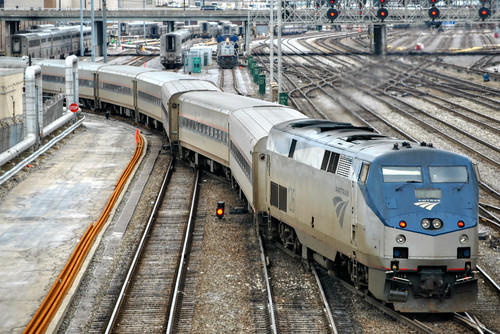railroad travel amtrak transportation chicagoillinois chicagounionstation conleyspatch