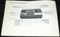 Sony SL-5600 VCR Betamax (2) (Photo Nut 2011) Tags: sony beta instructions vcr betamax sl5600