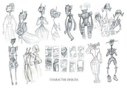 Character Designs (A2) by Zoellet, on Flickr