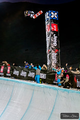 Out of this World Monster Backside Air by Shaun White (Tristan Shu) Tags: winter snow france sports sport night canon freestyle europe action extreme pipe 7d snowboard halfpipe tignes savoie 70200 espn xgames extrem superpipe shaunwhite wwwtristanshucom