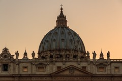 Golden Hour in the Vatican City (Maria_Globetrotter) Tags: francis francisco frans franois assisi francesco franziskus papam habemus francisko franciskus