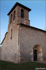 Ermita del Santo Cristo de Abechuco (torre) (Guijo Córdoba fotografía) Tags: abechuco torre tower ermita hermitage romanico paisvasco guijocordoba nikond70s spain españa vitoriagasteiz