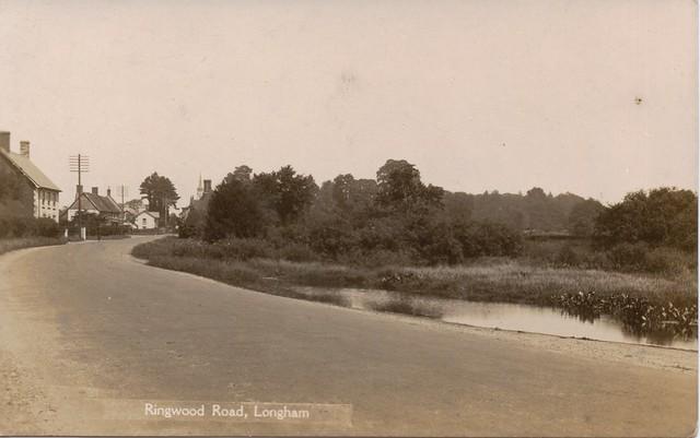 Ringwood Road, Longham 1930