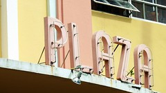 flamingo plaza (eFB) Tags: plaza building typography neon miami flamingo retro artdeco southbeach flamingoplaza