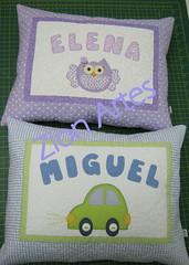 almofadas personalizadas (Zion Artes por Silvana Dias) Tags: coruja carro patchwork almofada decoraçãoinfantil almofadapersonalizada almofadainfantil almofadapatchwork zionartes