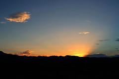 Daybreak (andrea sighinolfi) Tags: road sunset summer hot southwest america landscape dawn drive nikon highway tramonto desert alba south sunsets roadtrip american americana deathvalley 365 tramonti roadside ontheroad 2012 highway395 americandream d3100 nikond3100