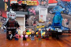 Lego Captain America Civil War Airport Battle, Set 76051 (Andrew D2010) Tags: lego ironman civilwar superheroes marvel captainamerica warmachine scarletwitch antman giantman 76051 agent13 ironpatroit superheroairportbattle set76051