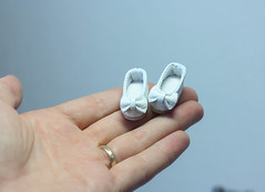 Veeeeeeeery small shoes ))) (by Hand Dreams) Tags: bjd sewing hand made pukifee shoes