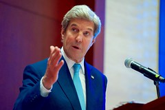 Secretary Kerry Answers a Laotian Reporter's Question (U.S. Department of State) Tags: johnkerry vientiane laos asean