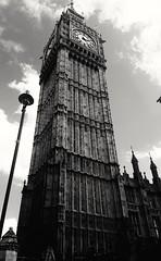 Big Ben (sta_c1) Tags: bigben london clock iconic blackandwhite black