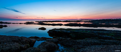 Heure bleue (hugsant) Tags: heure bleue blue hour night sea rocks