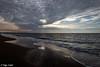 Cloud hole / Wolkendurchbruch (Steffen Schobel) Tags: sunset sonnenuntergang beach strand clouds wolken reflektion reflection sunrays sonnenstrahlen meer sea shoreline seascape vrouwenpolder goldcollection