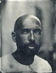 Franck (Troisime type) Tags: portrait collodion collodionhumide busch pressman 4x5 wetplate 35x45