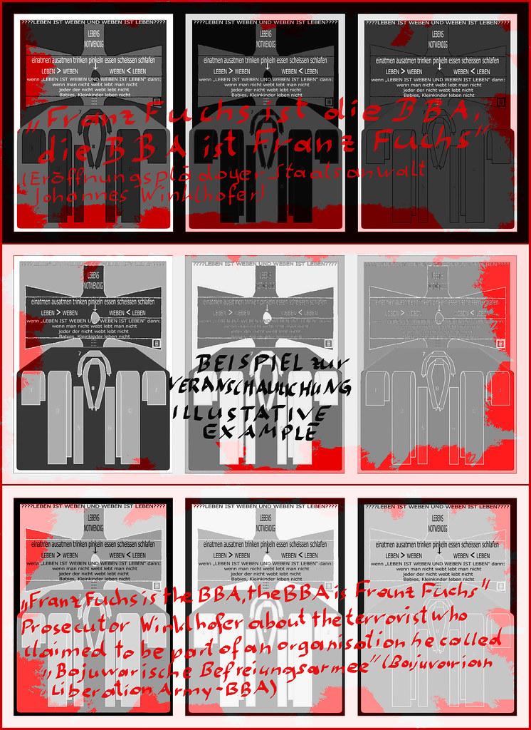 Kimono Kuvert Brief: Falsifikation U0026quot;weben U003d Leben U. Leben U003d  Webenu0026quot;