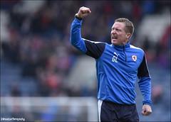Gary Locke (Novantae Photography) Tags: kirkcaldy fife scotland uk garylocke manager celebrates winning football scottishfootball spfl ladbrokesscottishchampionship raithrovers raithroversvsdunfermlineathletic