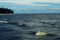 View From a Beach in Camp Morton (Alexis The Lark) Tags: beach lake lakewinnipeg manitoba campmorton water canada