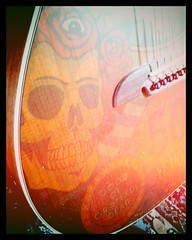 Dead (shortscale) Tags: guitar western alvarez grateful dead