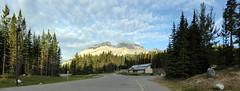 Banff NP - Cascade Mountain at Lake Minnewanka (Kwong Yee Cheng) Tags: alberta banffnp canada cascademountain hugin lakeminnewanka