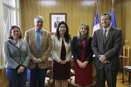 Reunión con la Intendenta de la Región de Arica y Parinacota Gladys Acuña