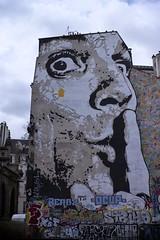 Painted Wall, IRCAM, Paris (1938) (cfalguiere) Tags: areailedefrance cityscape countryfrance datepub2016q308 graffiti locationparis outdoor paintedwall streetart urban exterieur paris street