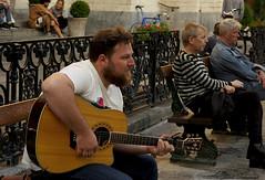 Portrait (Natali Antonovich) Tags: portrait sweetbrussels brussels belgium belgique belgie lifestyle mood musician guitarist guitar street