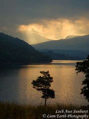DSCN0620 (liamearth) Tags: scotland loch awe clouds sunrise mountains forest trees scienic silhouette argyll