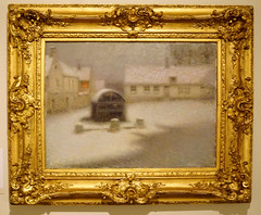 2016.02770a The Burrell Collection, 20 September 2016. The Snow. Henri Le Sidaner 1901. (jddorren08) Tags: glasgow burrellcollection scotland fineart decorativearts embroidery needlework ceramics paintings sculpture tapestries armour glass neareasterncarpets orientalart rugs sirwilliamburrell sonyalphaa6000 sigma30mm daviddorren jddorren henrilesidaner thesnow