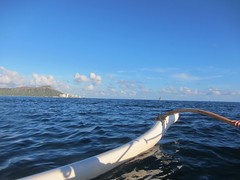 IMG_6815 (nautical2k) Tags: waikikibeachboys paddling outrigger canoe diamondhead honolulu oahu