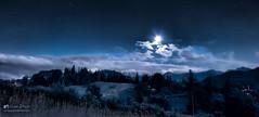 Mountains at night (www.photo4art.eu) Tags: dark exposure long night nightscape sky space stars mountains tatry moon clouds poland elitegalleryaoi bestcapturesaoi