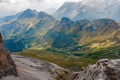 Dolomites (jimj0will) Tags: dolomites italy alps mountains roads hairpin