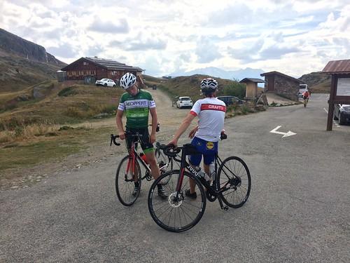 Day 5 - Col du Poutran III - Stijn, Marcel et moi