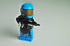 UN Heavy Trooper (my name is schimmi) Tags: lego battle military war future sci fi brickarms custom