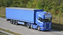 HXZ 1906 (panmanstan) Tags: scania r580 wagon truck lorry commercial freight transport vehicle a180 meltonross lincolnshire
