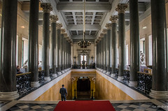 2016 - Baltic Cruise - St. Petersburg - Hermitage 22 (Ted's photos - For Me & You) Tags: 2016 cropped tedmcgrath tedsphotos vignetting unesco unescoworldheritagesite unescoworldculturalcentre ussr hermitage museum columns
