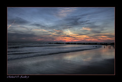 **THERE IS BEAUTY AFTER DESTRUCTION** (~*THAT KID RICH*~) Tags: ocean sunset sea sky ny newyork art beach nature water colors beauty clouds canon reflections print sand waves sandy rich digitalart longisland explore longbeach tkr zoeller jettie thatkidrich richzoeller