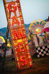 GAMES (Sam Scholes) Tags: carnival sign night digital lights utah nikon colorful neon ride statefair fair games saltlakecity rides neonsign d300 utahstatefair