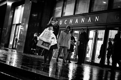 Got Everything (Explored) (stephen cosh) Tags: life street city people blackandwhite bw sepia mono scotland town glasgow candid streetphotography rangefinder ayr reallife humancondition blackandwhitephotos 50mmsummilux blackwhitephotos leicam9 stephencosh leicammonochrom leicamm
