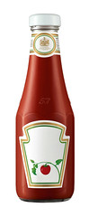 Heinz (FoodBev Photos) Tags: red food glass bottle sauce selfridges blank labels condiments heinz tomatoketchup heinztomatoketchup unbranded