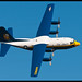 Fat Albert Airlines Display of the Blue Angels