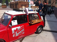 Mini coffee vending, NL (BuonCuore) Tags: street food coffee car truck snacks van cart sales vending olsen concession grumman foodtruck stepvan streetsales